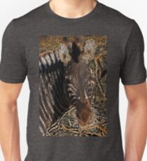 Zebra I - Coloured Pencil Unisex T-Shirt