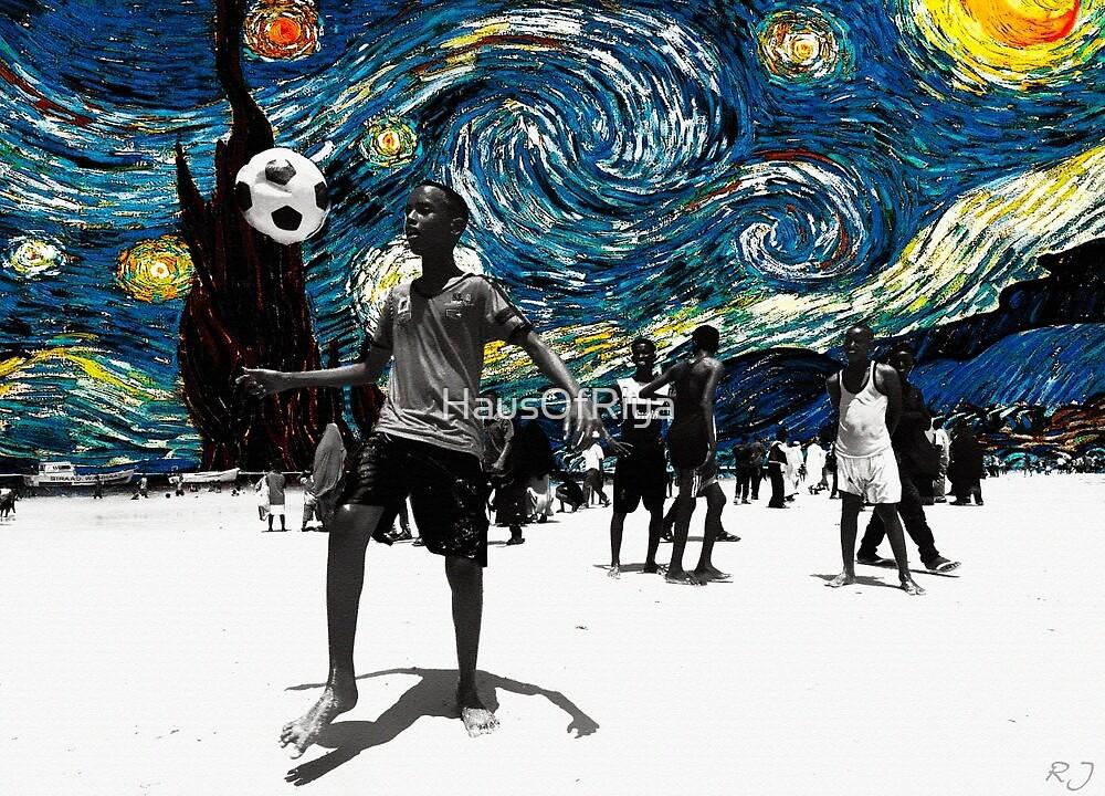 Starry Night of Somalia. by HausOfRiya