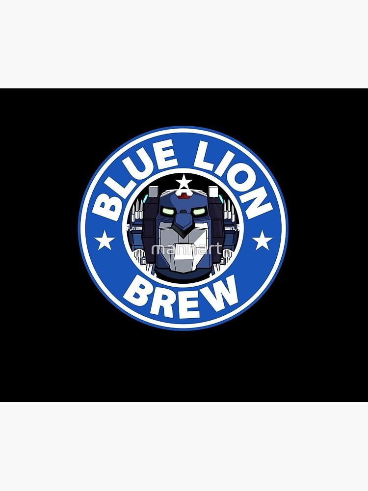 Blaues Löwengebräu von mannart
