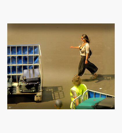 The Baggage Handlers Photographic Print