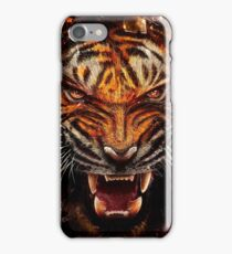 Angry Tiger Breaking Glass Yelow                                                     iPhone Case/Skin