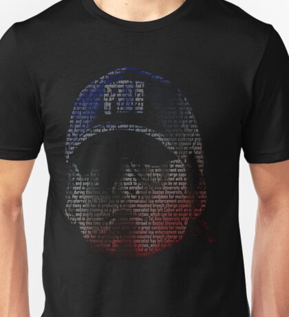 Ash Head Rainbow Six Unisex T-Shirt