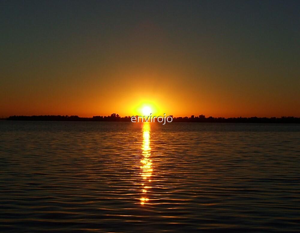 Mulwala Sunset by Joanne Byron