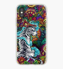 The White Tiger iPhone Case