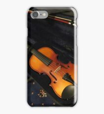 Violin and Bow in Case iPhone Case/Skin