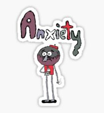 Benson's Anxiety Sticker
