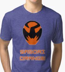 Kyuranger - Sasori Orange Tri-blend T-Shirt