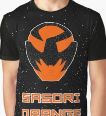 Kyuranger - Sasori Orange Graphic T-Shirt