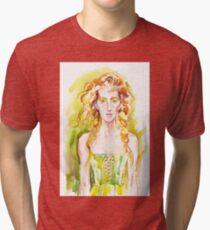 A summer girl Tri-blend T-Shirt