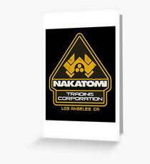 Nakatomi Trading Corporation.  Greeting Card
