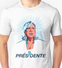 MARINE LE PEN PRÉSIDENTE Unisex T-Shirt