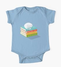 The Cat Loves Books One Piece - Short Sleeve