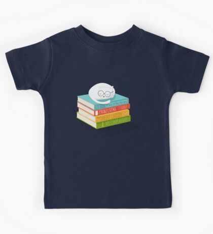 The Cat Loves Books Kids Clothes