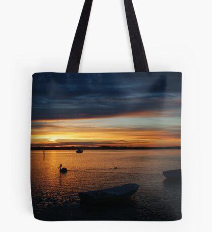 Swan Bay Sunset, Queenscliff Tote Bag