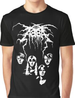 ABBA Black Metal Graphic T-Shirt