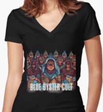 Fire of Unknown Origin Women's Fitted V-Neck T-Shirt