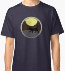 Cat Walk at Night Classic T-Shirt