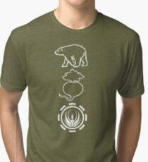 Bears. Beats. Battlestar Galactica Tri-blend T-Shirt
