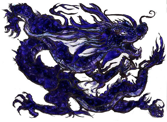 Blue Dragon by nmknowles