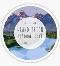 Grand Teton  National Park Sticker