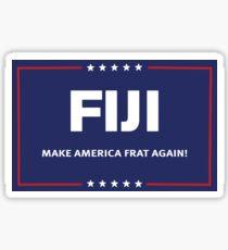 Trump Fiji Sticker