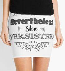 Nevertheless She Persisted Mini Skirt