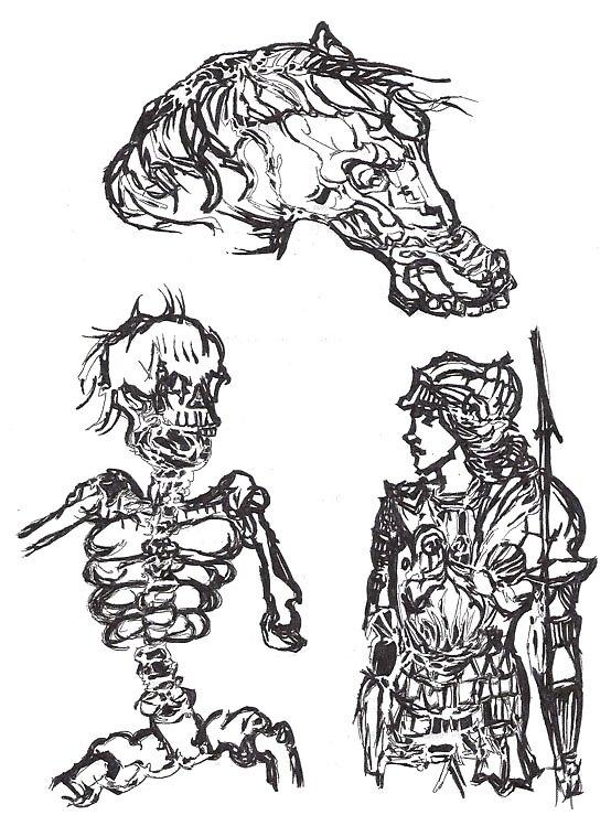 Skullhorsesoldier by nmknowles