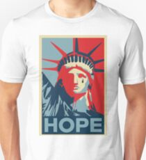 Crying Statue of Liberty Unisex T-Shirt