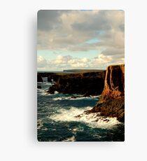 Cliffs Of Eshaness Canvas Print