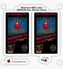 NES Custom Cart Label - Pixel [Get the MEDIUM size] Sticker