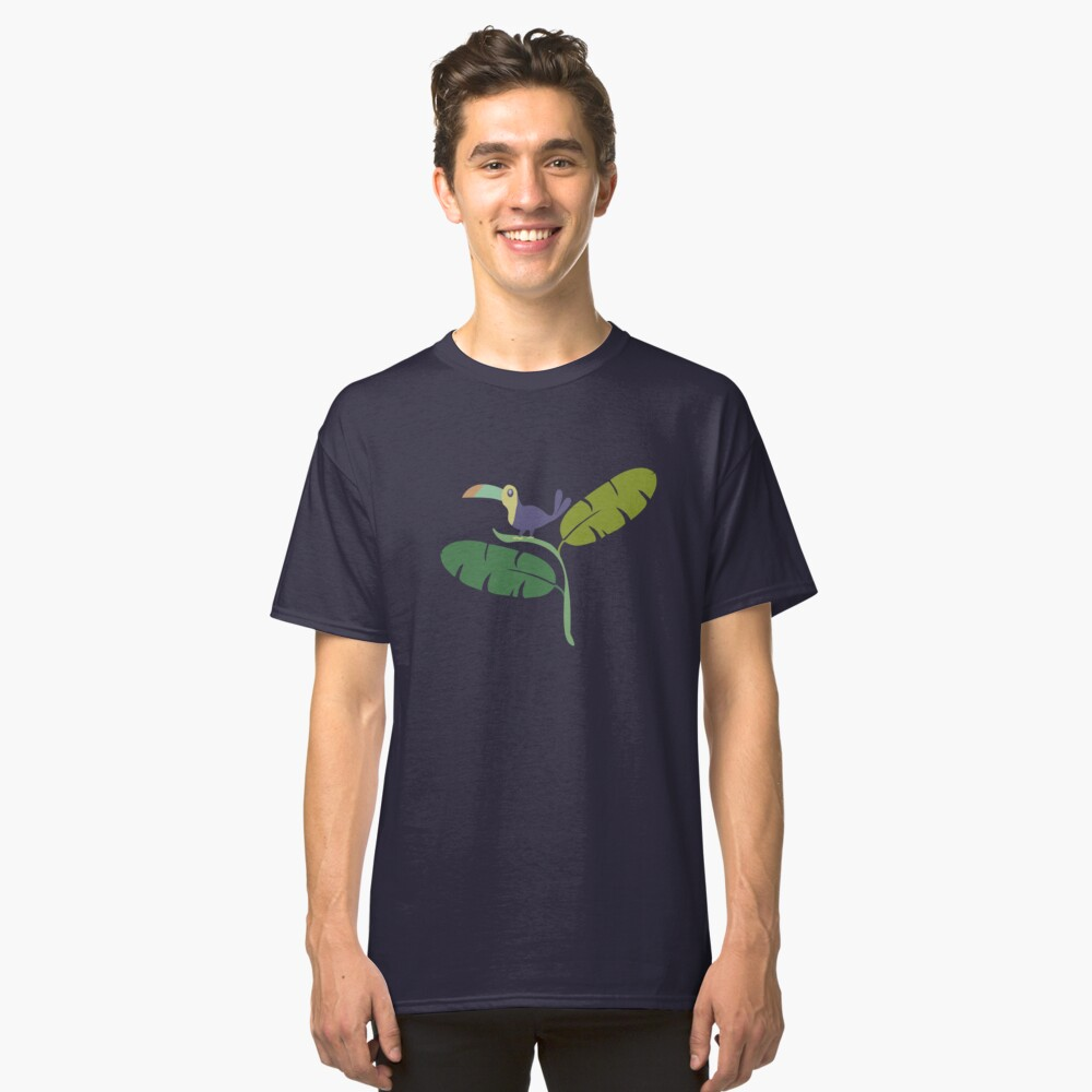 TAUCAN PARADISE HAPPY Classic T-Shirt Front