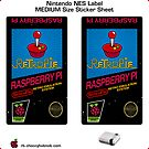 NES Custom Cart Label - Retropie [Get the MEDIUM size] by ChoccyHobNob