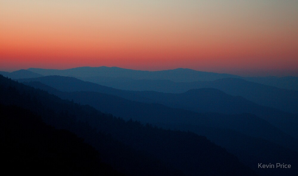 Smoky Mountains sunrise by Kevin Price