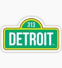 Detroit Street Live Sticker