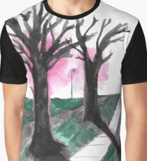 sidewalk Graphic T-Shirt