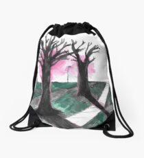 sidewalk Drawstring Bag