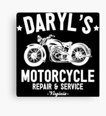 Daryl's Motorcycle Repair & Service Canvas Print