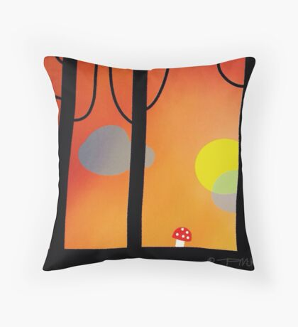 It's Getting Late Throw Pillow