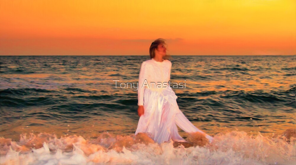 Sunset Bride by Tony Anastasi