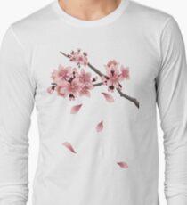 Cherry Blossom Branch Long Sleeve T-Shirt
