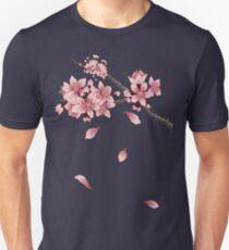 Cherry Blossom Branch Unisex T-Shirt