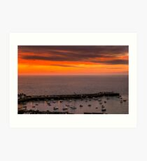 Gorey from above Art Print
