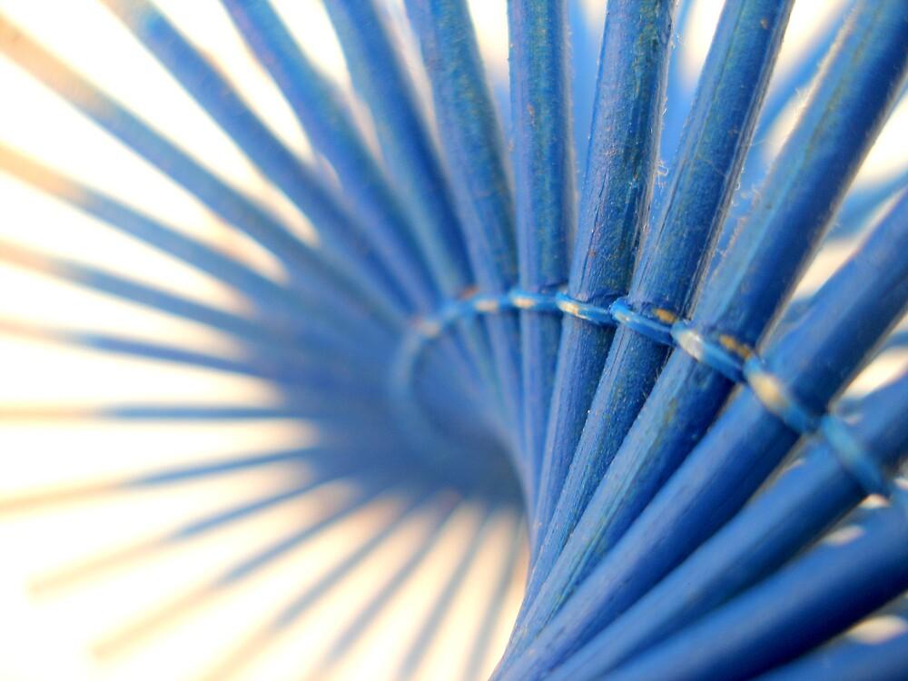 Blue spiral by K.D. Hemi