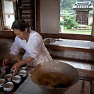 Hong Yonghee Prepares Lotus-flower Tea At Her Tea-house in Boeun by koreanrooftop