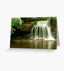 BURTON FALLS Greeting Card