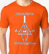 Bill Cipher - Welcome to Gravity Falls - Anaglyph T-Shirt