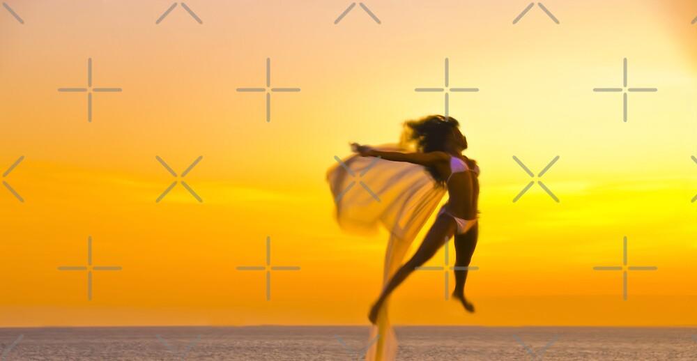 The Angel's Golden Jump by Tony Anastasi