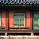 Doors in Changdeok Palace in Seoul  by koreanrooftop
