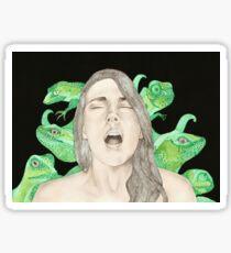 BlissFace / lizards Sticker