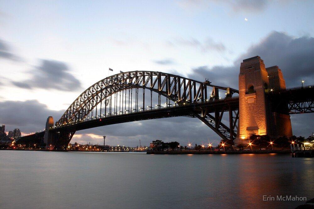 Harbour Bridge - Sydney - New South Wales by Erin McMahon